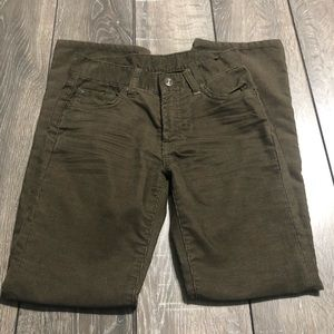 7 For All Mankind Brown Corduroy Pants Boys Size 8